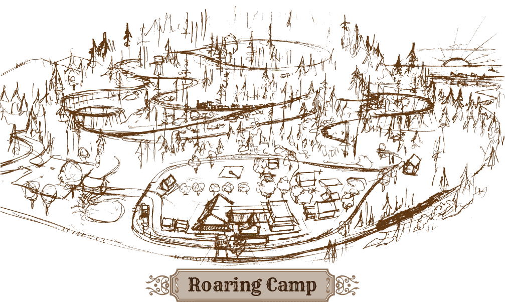Roaring Camp activity map